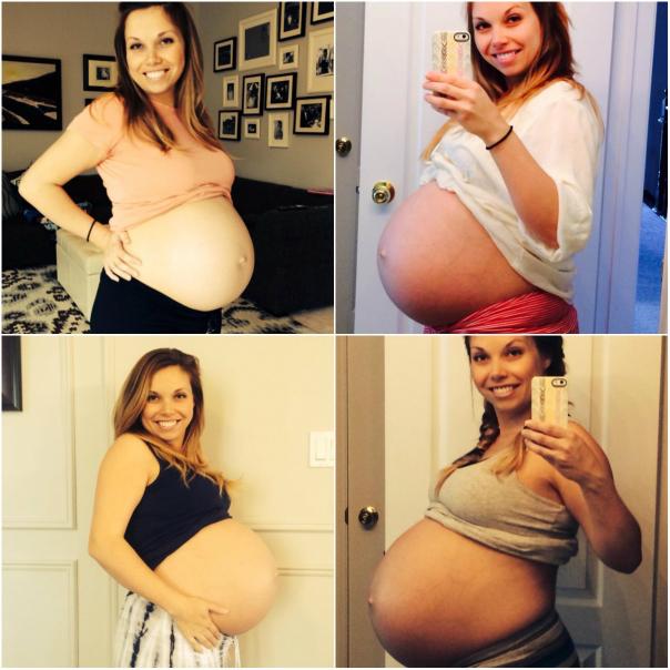Фото беременной женщины двойня 75