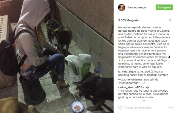 Francisca Undurraga / Instagram