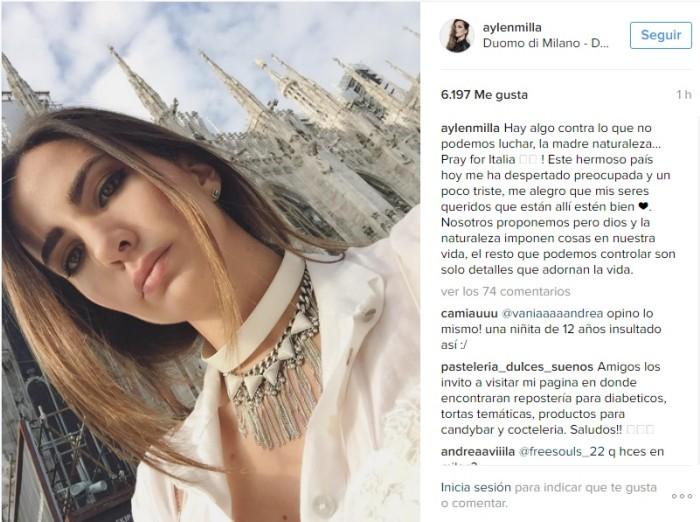 Instagram | Aylén Milla