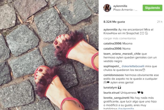 Aylén Milla   Instagram