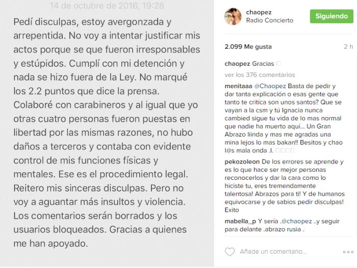 Ignacia Allamand / Instagram