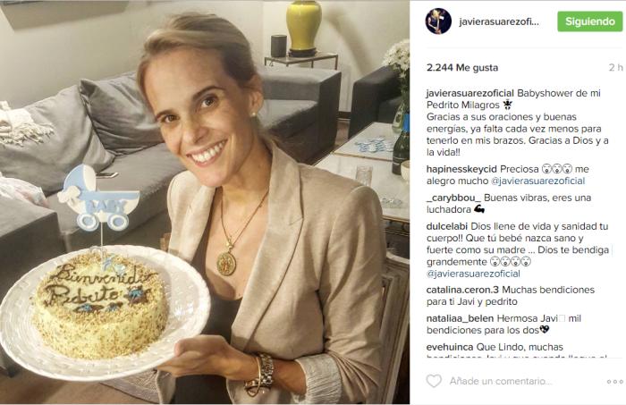 Javiera Suárez / Instagram