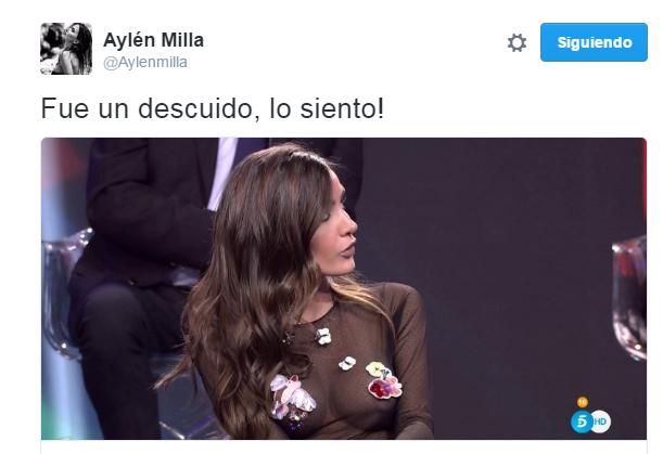 Aylén Milla| Twitter