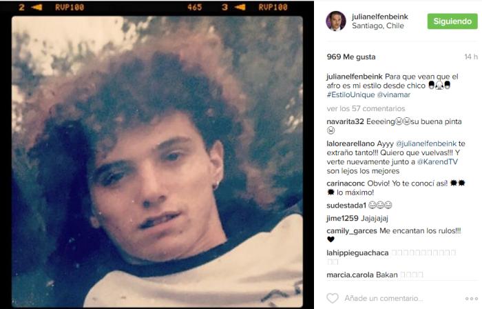 Julián Elfenbein | Instagram