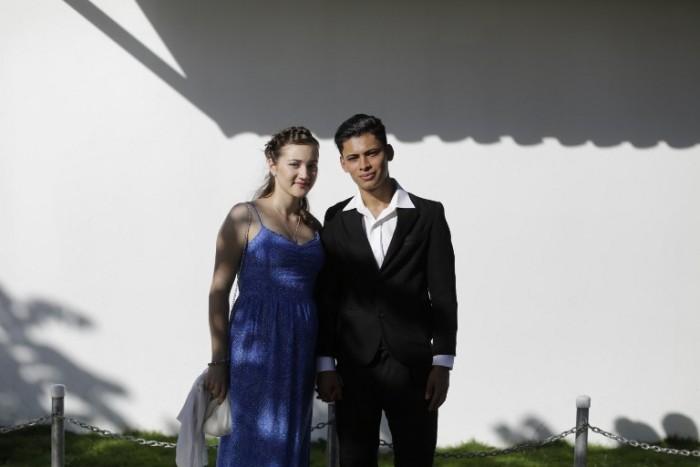 Dilan y Elsbieta | AFP Photo