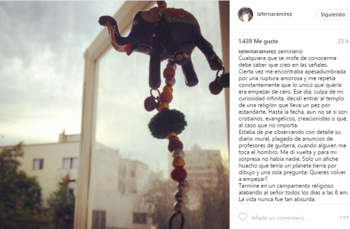 Fernanda Ramírez   Instagram