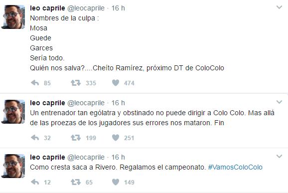 Leo Caprile |Twitter