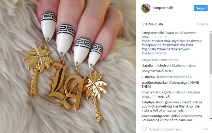 Liam Peter Taylor-Nail Artist | Instagram