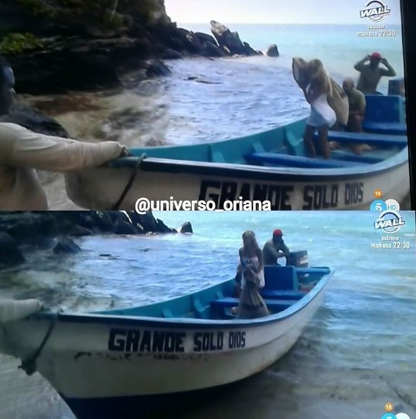 Oriana en Supervivientes | Telecinco