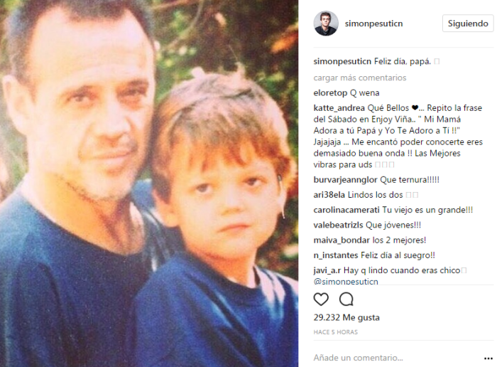 Simón Pesutic | Instagram