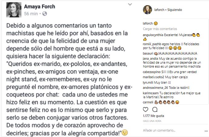 Amaya Forch | Instagram