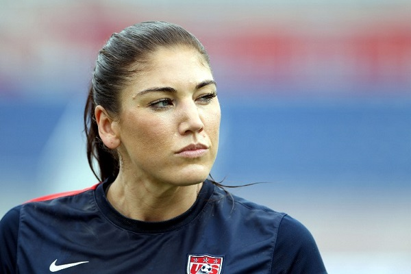Hope Solo| Marc Serota| AFP