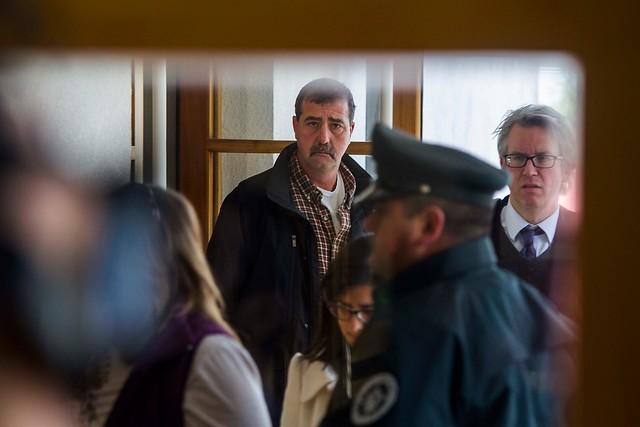 El padre de Erica asistió a la formalización| David Cortes Serey | Agencia UNO