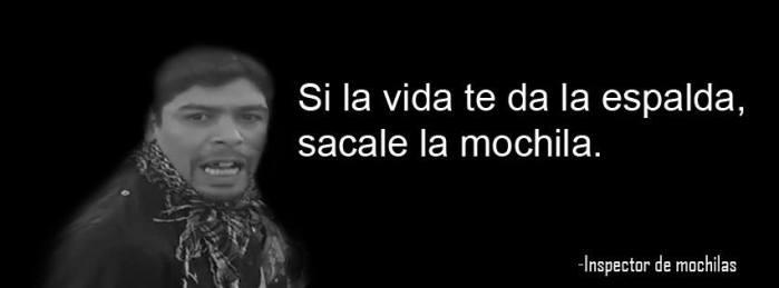 Inspector de Mochilas | Facebook