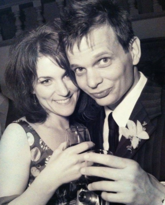 Molly Glynn y su marido | Facebook