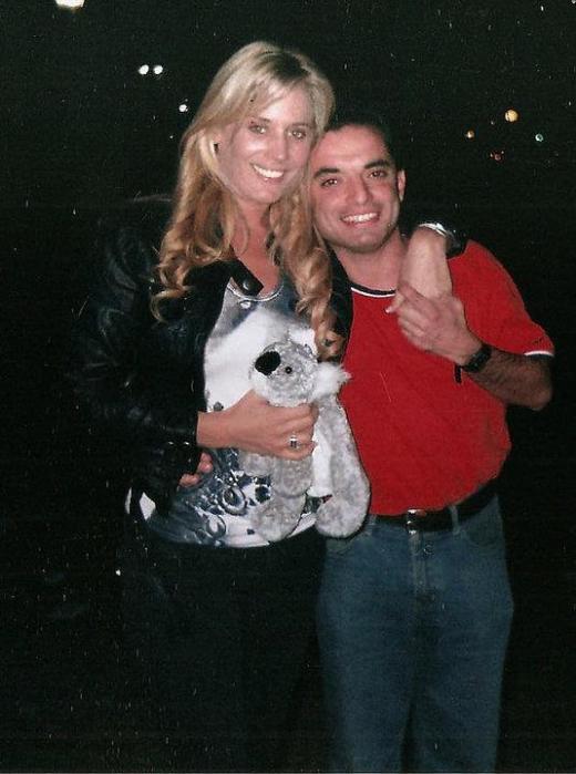 Jameston Herrera junto a Rocío Marengo | Facebook