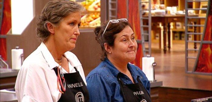 Paulina (a la derecha) fue la eliminada | Canal 13