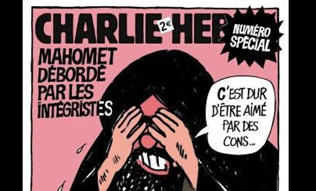 Portada revista Charlie Hebdo
