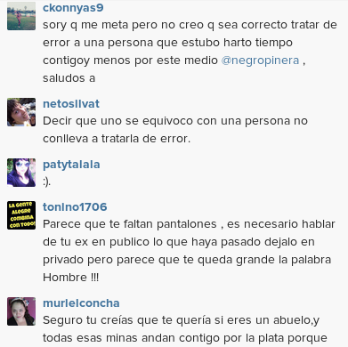 Negro Piñera | Instagram