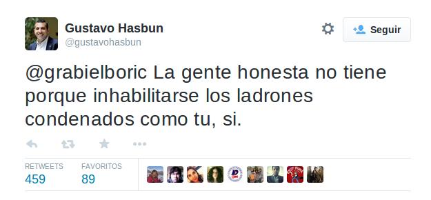 Gustavo Hasbún | Twitter