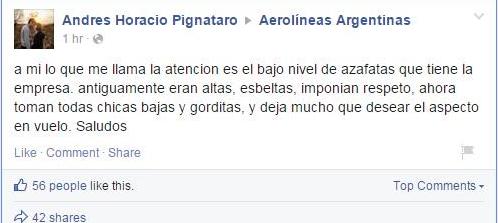 Aerolíneas Argentinas | Facebook