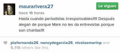 Maura Rivera | Instagram
