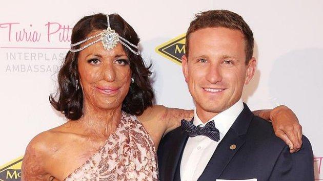 Turia y Michael después del accidente | Facebook