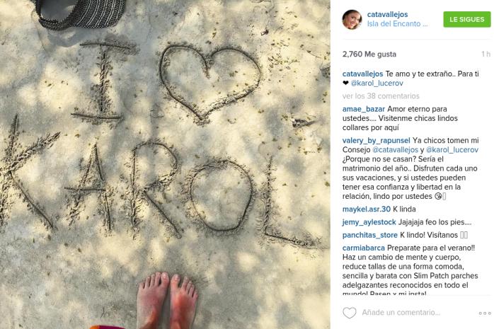 Cata Vallejos | Instagram