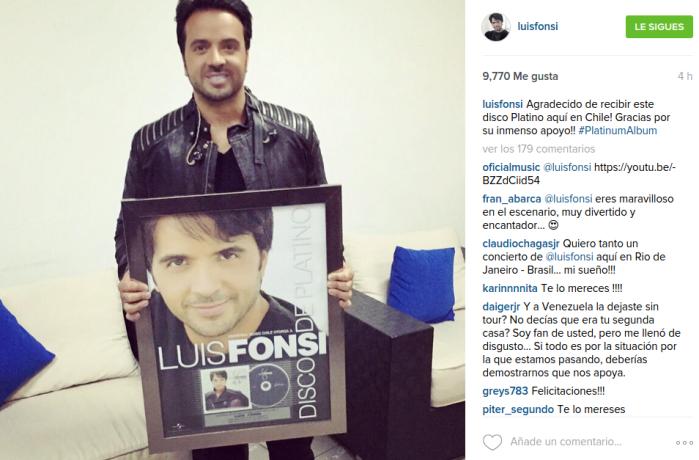 Luis Fonsi   Instagram