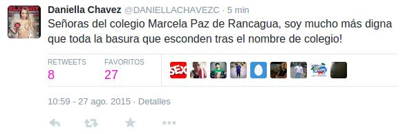 Daniella Chávez | Twitter