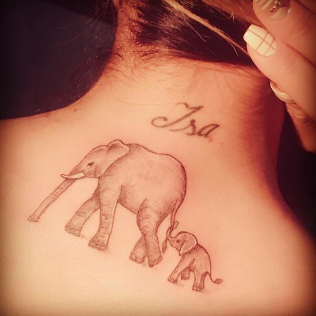 Este Es El Significado De Los Elefantes Que Camila Recabarren Se