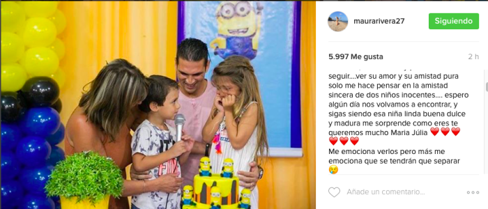 Instagram Maura Rivera