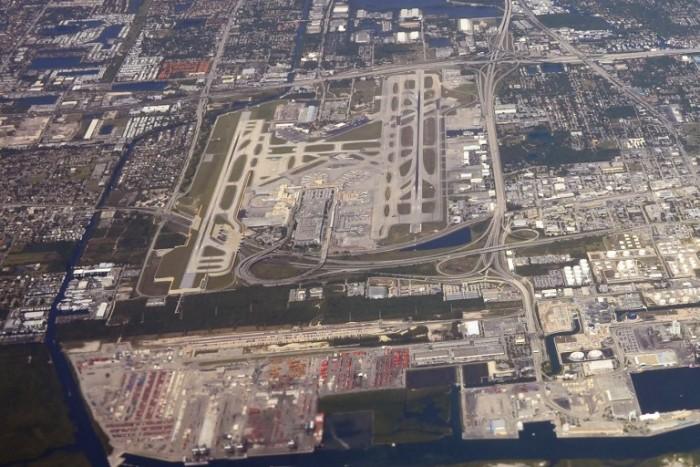 Vista aérea de Fort Lauderdale, Florida, EEUU / AFP