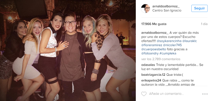 Arnaldo Albornoz | Instagram