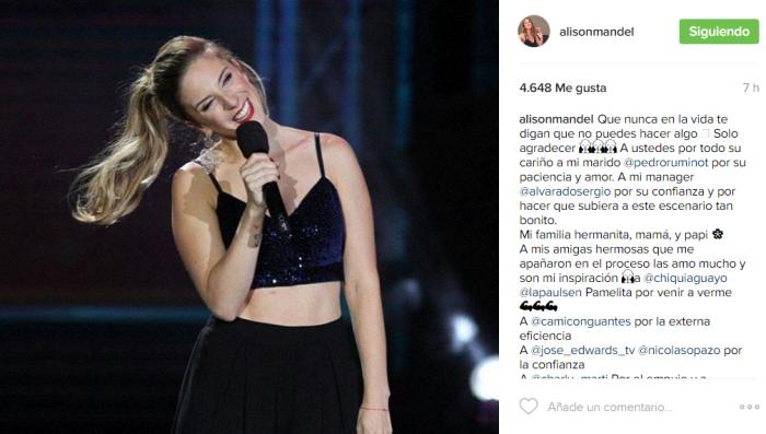 Alison Mandel | Instagram