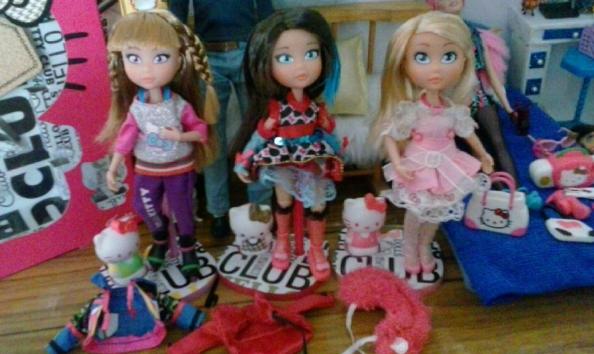 Barbie en cortest Instagram