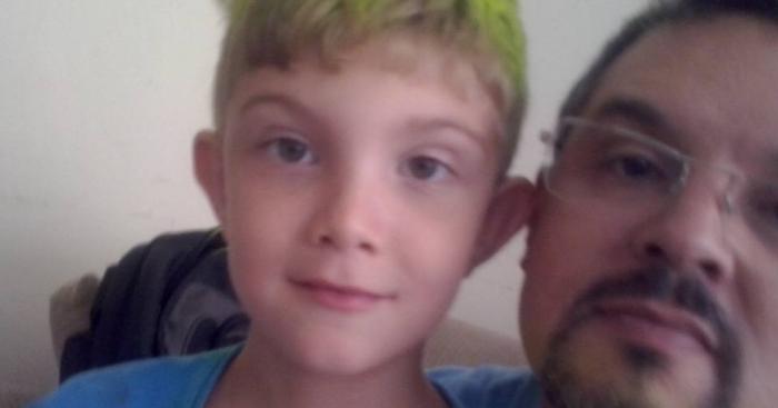 El atacante y su hijo | Reproducción de Facebook