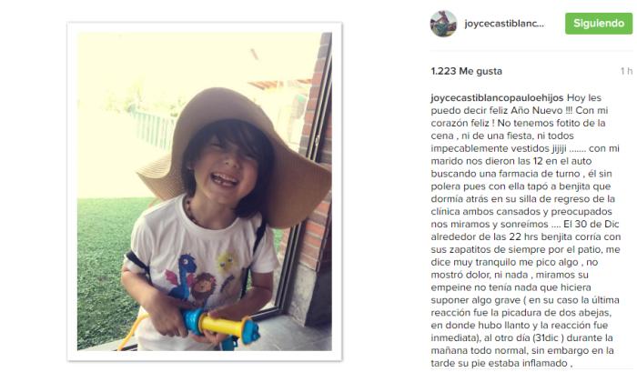 Joyce Castiblanco |Instagram