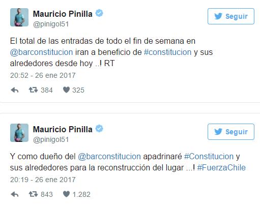 Mauricio Pinilla  Twitter
