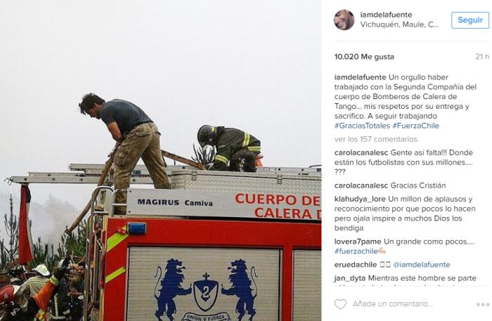 Cristián De la Fuente | Instagram