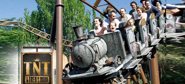 El Tren de la Mina | Parque de Atracciones de Madrid