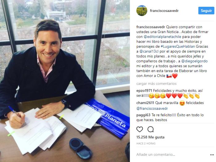 Francisco Saavedra | Instagram