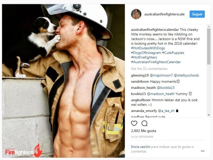 Australian Firefighters | Instagram