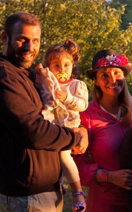 Laura Silva y su familia | Cedida