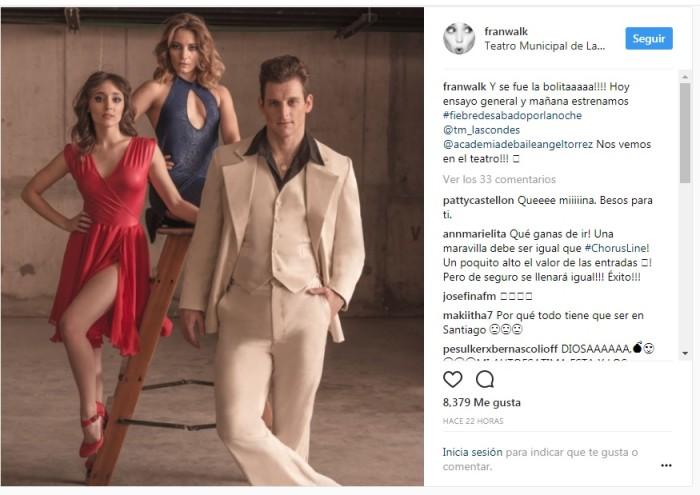 Instagram Fran Walker