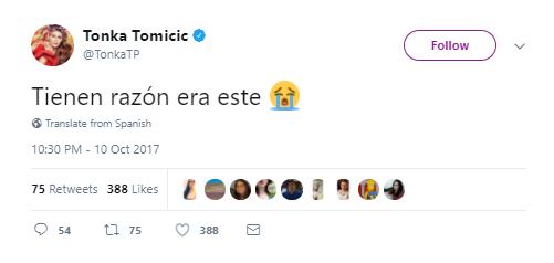 Tonka Tomicic | Twitter