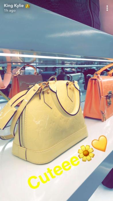 Kylie Jenner | Snapchat