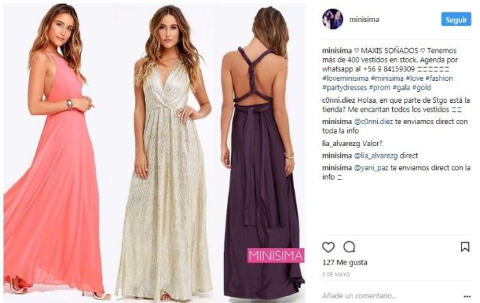Minisima Vestidos | Instagram