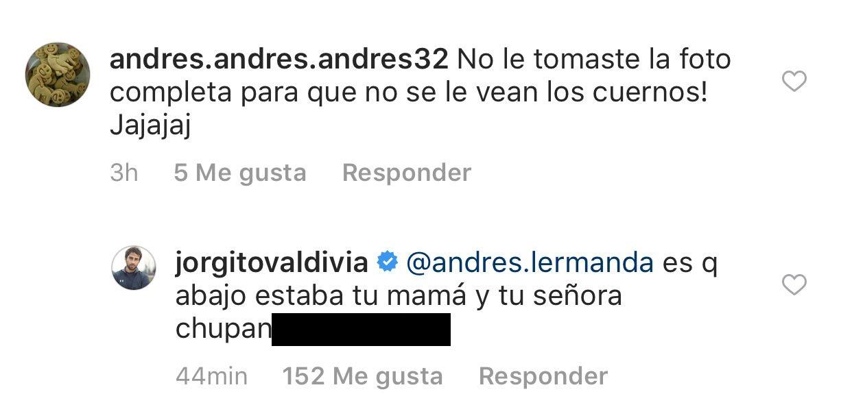 Jorge Valdivia   Instagram