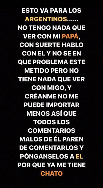 Máximo Menem Bolocco | Instagram